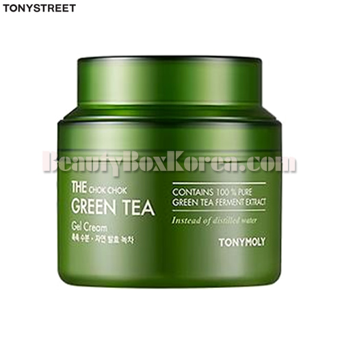 TONYMOLY The Chok Chok Green Tea Gel Cream 100ml,TONYMOLY