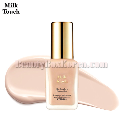 MILK TOUCH Marshmallow Foundation 30ml,Other Brand