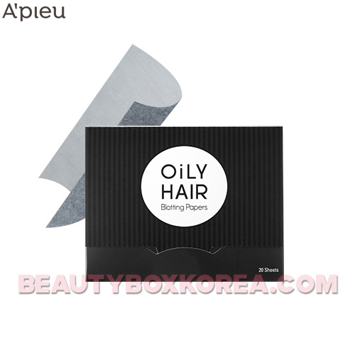 A'PIEU Oily Hair Blotting Paper 20 sheets,A'Pieu