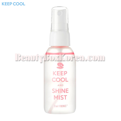 KEEP COOL Shine Fixence Mist 60ml,KEEP COOL