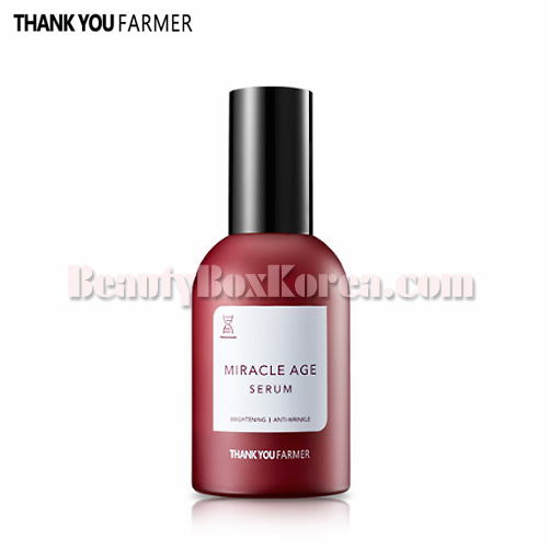THANK YOU FARMER Miracle Age Repair Serum 60ml,THANK YOU FARMER