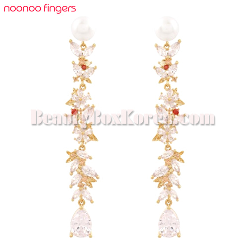 NOONOO FINGERS Fall in Love Earrings 1ea,NOONOO FINGERS