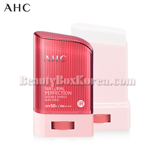 AHC Natural Perfection Double Shield Sun Stick Pink SPF50+ PA++++ 22g,AHC