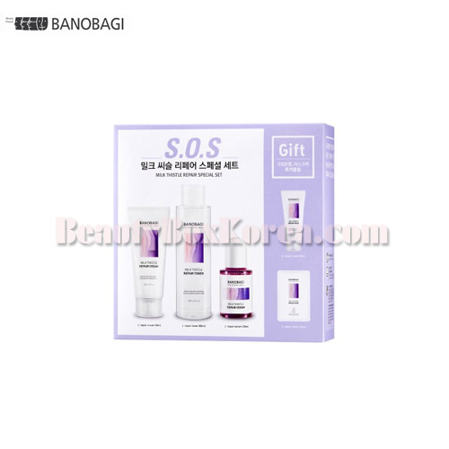BANOBAGI Milk Thistle Repair Set 4items,BANOBAGI