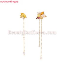 NOONOO FINGERS Maple Earrings 1pair,NOONOO FINGERS