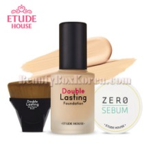 ETUDE HOUSE Double Lasting Foundation SPF42 PA++ Set 3items,ETUDE HOUSE