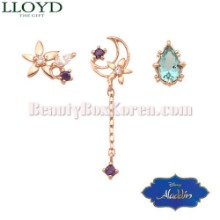 LLOYD Jasmine 3sty Earrings 1set LPTJ4015T [LLOYD x ALADDIN][Jasmine Collection],Beauty Box Korea