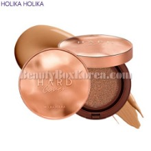 HOLIKA HOLIKA Hard Cover Perfect Cushion EX SPF50+ PA++++ 14g*2ea [Terra Cotta Edition]
