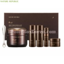 NATURE REPUBLIC Yuli Night Cream Special Set 5items