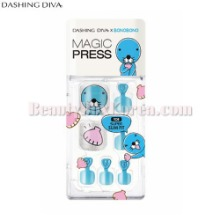 DASHING DIVA Magic Press Pedicure 1Set [BONOBONO Collection]