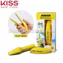KISS NEW YORK Banana Flat Iron 1ea [KISS NEW YORK X MINIONS]