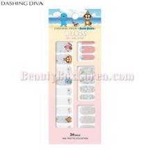 DASHING DIVA Gloss Gel Nail Strip 1Set [BONOBONO Collection]