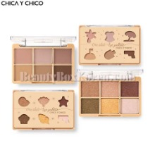 CHICA Y CHICO One Shot Eye Palette 9g,CHICA Y CHICO