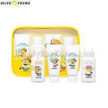 OLIVE YOUNG MINIONS Mini Travel Kit 4items