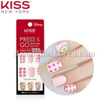KISS NEW YORK Press & Go One-step Gel Nail Super Hold Slim Fit 1ea [Disney Edition]