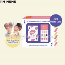 I'M MEME I'm Hidden Card Palette & Magic Press Set 3items [I'M MEME X DASHING DIVA Limited]