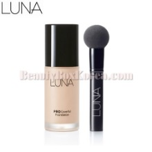 LUNA Pro Coverful Foundation 30ml,Beauty Box Korea