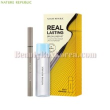 NATURE REPUBLIC Real Lasting Brush Liner Kit 2items [Online Excl.]