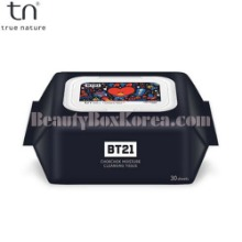 TN BT21 Chokchok moisture Cleansing Tissue 30ea