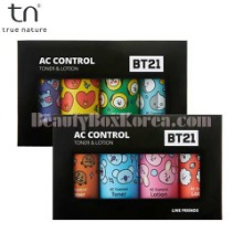 TN BT21 AC Control Toner & Lotion Miniature Set 4items