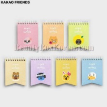 KAKAO FRIENDS Flower&Happiness Mini Pad 1ea,Beauty Box Korea