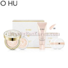 OHUI Ultimate Brightening Essence Pact #01 Light Set 5items