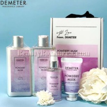 DEMETER Perfumed Body #Powdery Musk Set 4items