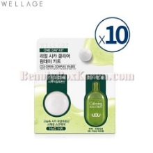 WELLAGE Real Cica Clear 1Day Kit*10ea