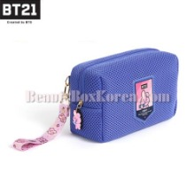 BT21 Airmesh Pouch Daily 1ea [BT21 x MONOPOLY]