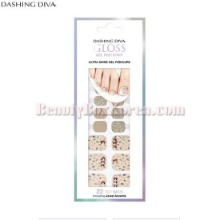 DASHING DIVA GLoss Gel Pedi Strip 1ea [Retro City palette Collection]