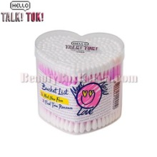 HELLO TALKTOK Heart Cotton Swab 200P