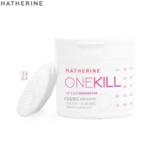 HATHERINE One Kill Lip & Eye Remover Pad 70ea 155ml