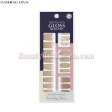 DASHING DIVA GLoss Gel Nail Strip 1ea [Retro City palette Collection]
