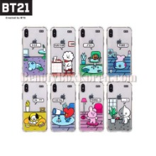 BT21 Roomies Clear Slim Bumper Phone Case 1ea