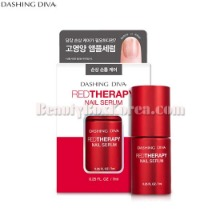 DASHING DIVA Red Therapy Nail Serum New 7ml
