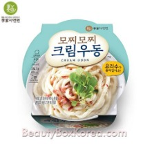 IGA NATURAL NOODLE Mozzi Mozzi Cream Udon Cup 304g*3ea,Beauty Box Korea