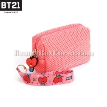 BT21 Airmesh Pouch Mini 1ea [BT21 x MONOPOLY]