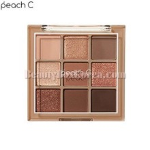 PEACH C Soft Mood Eyeshadow Palette #Soft Brown 18g