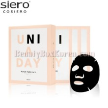SIERO Uni A Day Black Mask Pack 30ml*10ea