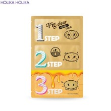 HOLIKA HOLIKA Pig-Clear Black Head 3-Step Kit Honey Gold 3g
