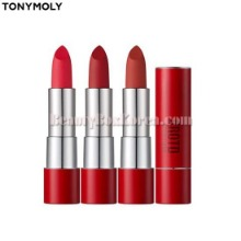 TONYMOLY Perfect Lips Monochrome Matte Lipstick 3.5g [#ROTD Red Of The Day Edition]