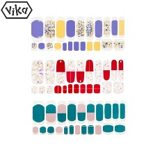 VIKA Nailjam Gel Nail Strip 1ea [S/S Collection A]