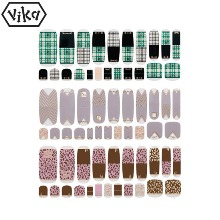 VIKA Nailjam Gel Nail Strip 1ea [F/W Collection B]