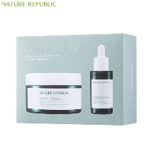 NATURE REPUBLIC Green Derma Mild Cream+Cica Serum+EXO Bromide Special Set 3items