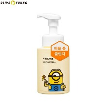 OLIVE YOUNG MINIONS Honey With Banana Bubble Foam Cleanser 280ml