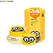 OLIVE YOUNG MINIONS Honey With Banana Wash Off Pack Special Set 2items