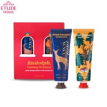 ETUDE HOUSE Rudolph, Coming To Town Hand Bouquet Hand Cream Set 2items [2019 Holiday Collection]