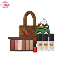 ETUDE HOUSE Rudolph Holiday Look #1 The Red-nosed Reindeer Set 7items [2019 Holiday Collection][Online Excl.]
