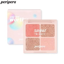 PERIPERA Sugar Twinkle Palette 1.6g*4colors [Mood Blank Collection]