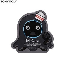 TONYMOLY Tako Pore Charcoal Clear Mask Pack 20g